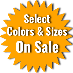 Select Colors & Sizes On Sale