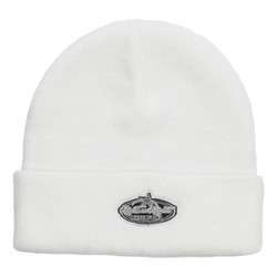 99c7bef0435 Rig Em Right Solid White Knit Beanie