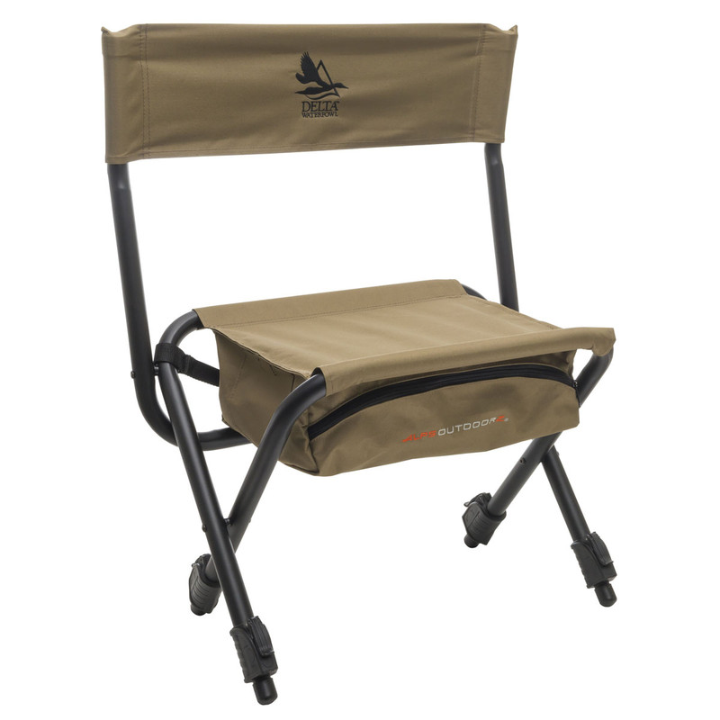 ALPS OutdoorZ Boat Blind Chair in Khaki Color