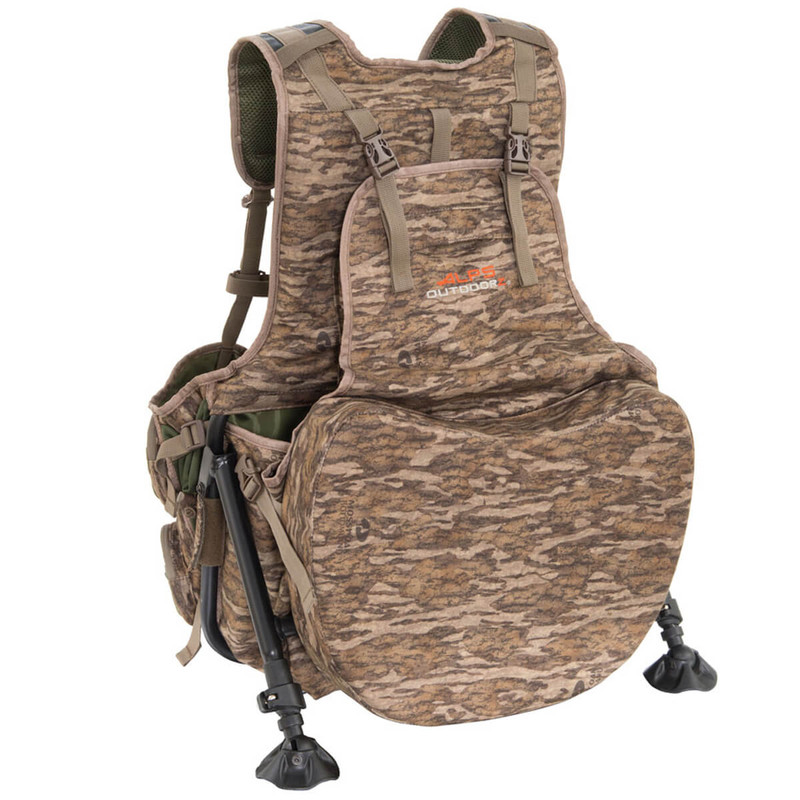 Alps Outdoorz Grand Slam Turkey Vest in Mossy Oak Bottomland Color