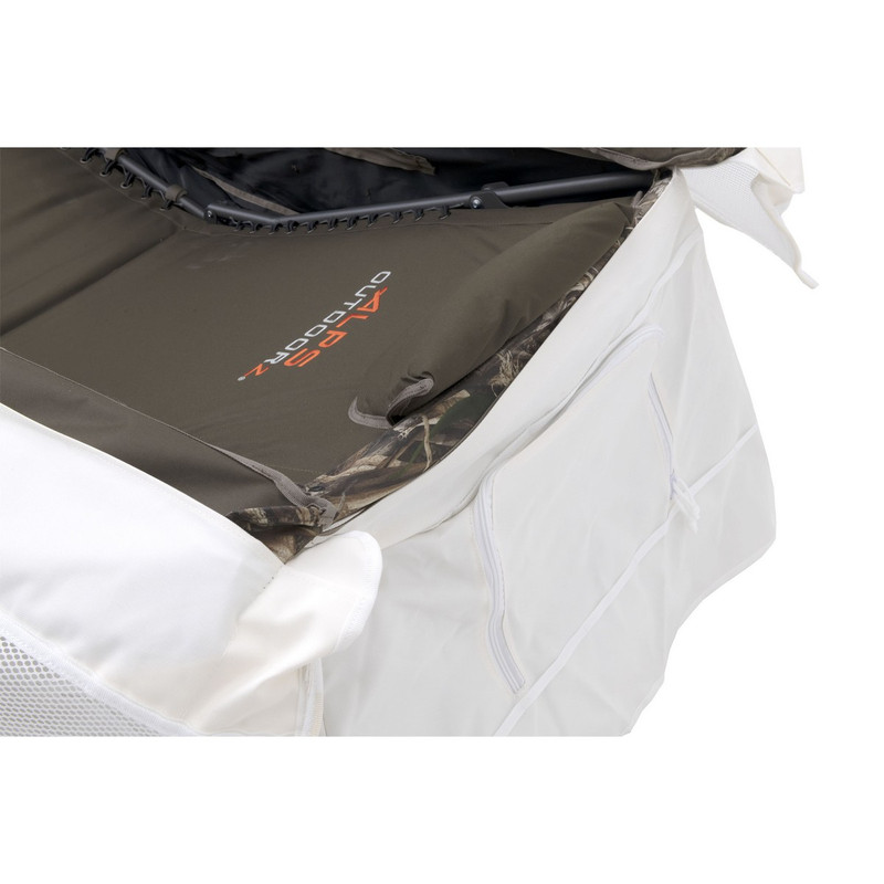 ALPS OutdoorZ Legend Layout Blind Snow Cover