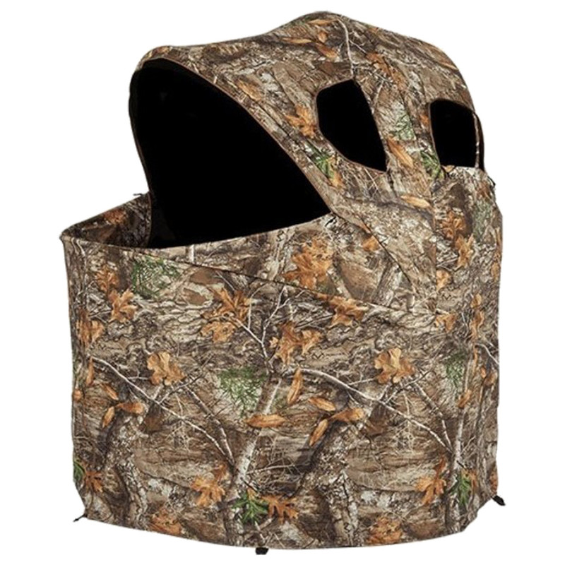Ameristep Deluxe Two Man Tent Chair Blind - Realtree Edge