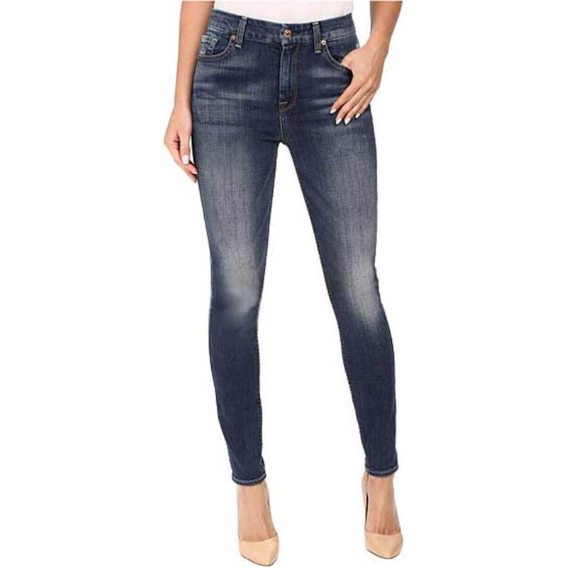 7 For All Mankind Ankle Skinny Jeans in main