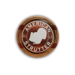 American Strutter Bobby Woods Signature Series Laminated Crystal Call