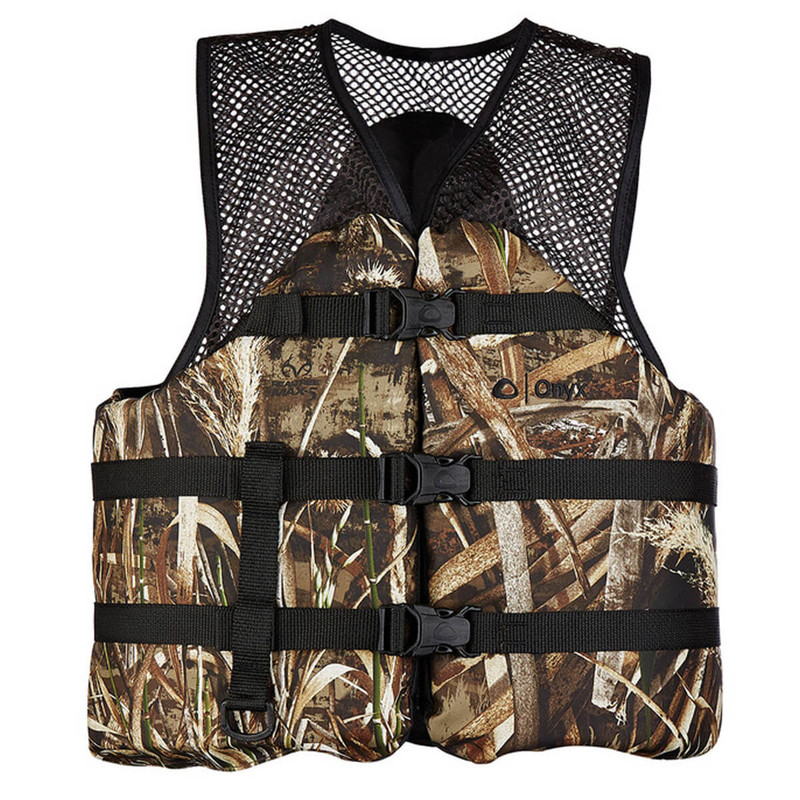 Onyx Mesh Classic Camo Flotation Sport Vest in Realtree Max 5 Color