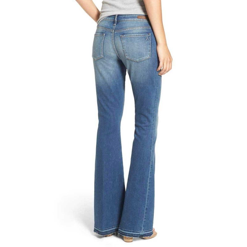 Articles of Society Faith Flare Jeans in Santana Color