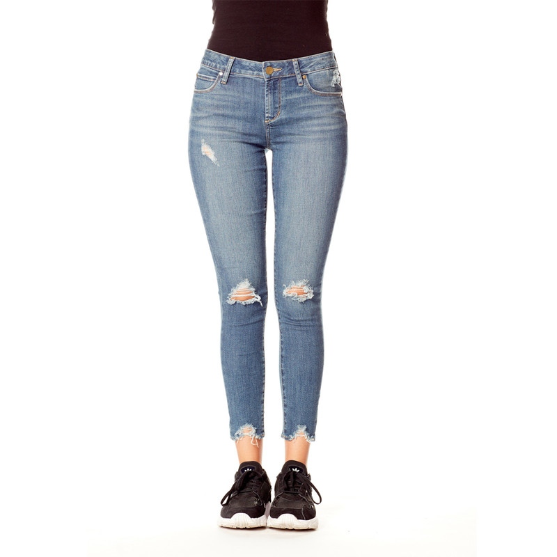 Articles of Society Suzy Skinny Jeans in Crystal Color
