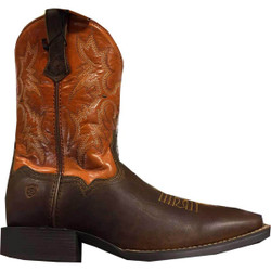 Ariat Youth Tombstone Powder Brown/Sunnyside Western Boot
