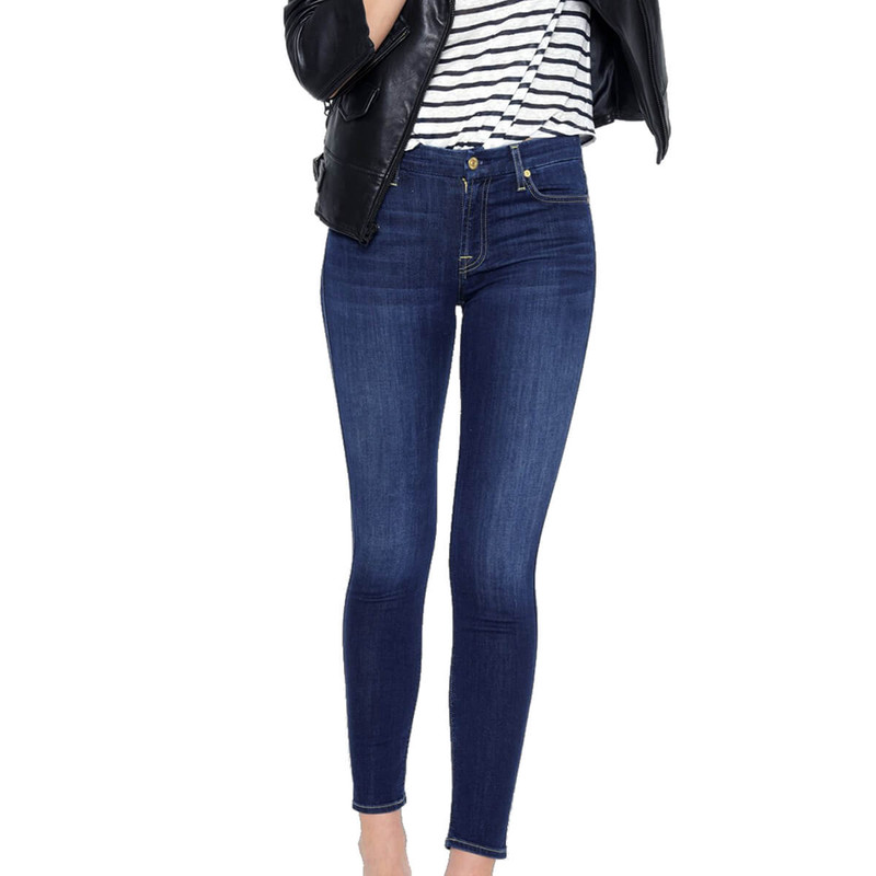 7 For All Mankind The Ankle Skinny in Duchess Color