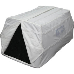 GHG Ground Force Hunting Dog Blind Snow Cover