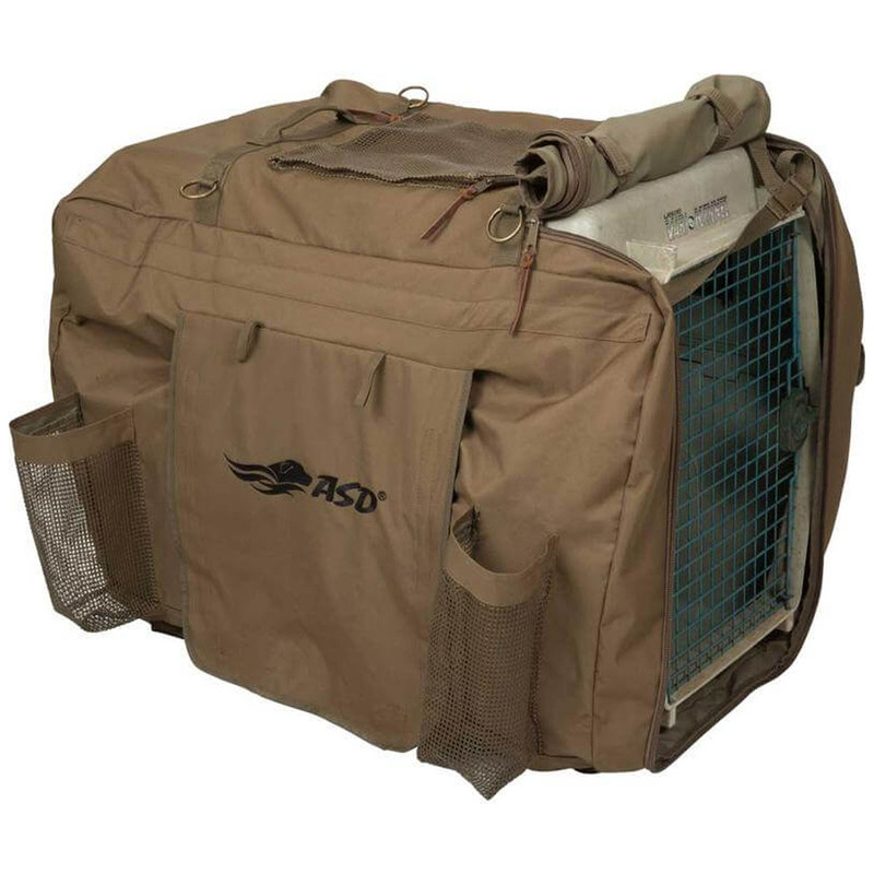 Avery Insulated Kennel Coat Cover in Brown Color