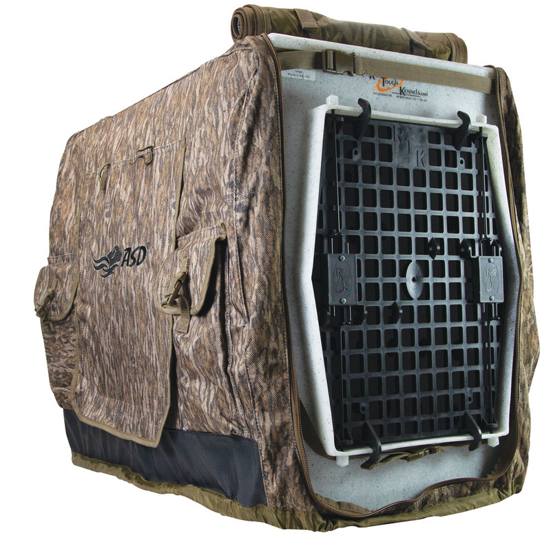 Avery Insulated Kennel Coat Cover in Mossy Oak Bottomland Color