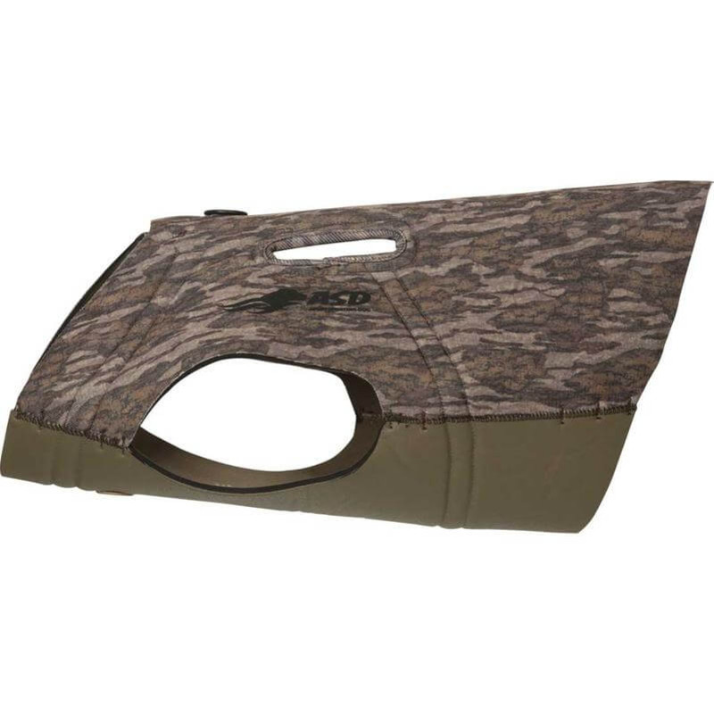 Avery ASD Bodyshield Pro Dog Parka in Mossy Oak Bottomland Color