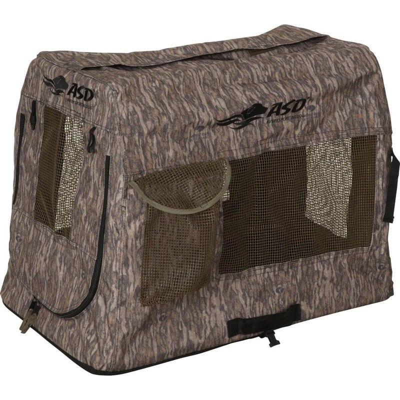 Avery Quick Set Kennel in Mossy Oak Bottomland Color