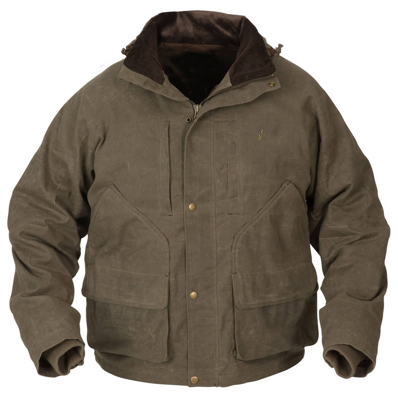 Avery Heritage Waterfowl Wading Jacket in Marsh Brown Color