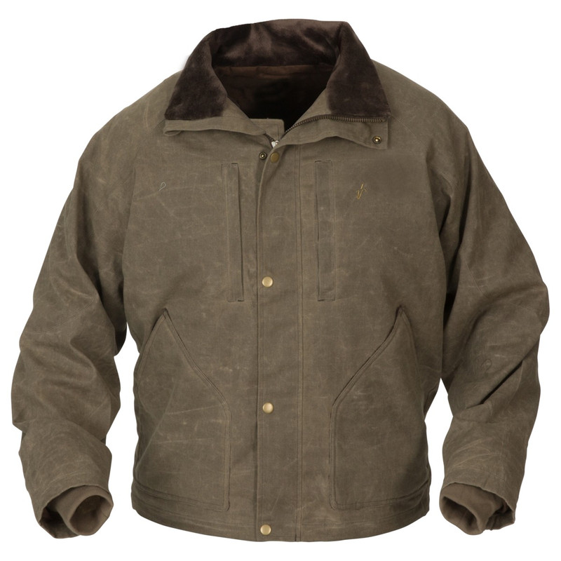 Avery Heritage Field Jacket in Marsh Brown Color