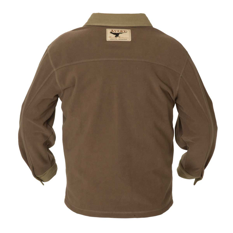 Avery Heritage Jac Shirt in Marsh Brown Color