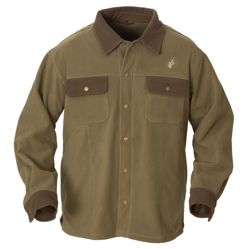 Avery Heritage Jac Shirt in Spanish Moss Color