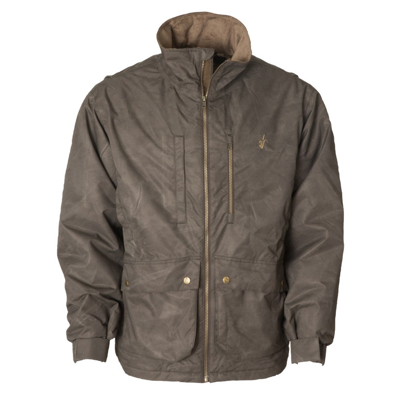 Avery Heritage Sportsmans's Field Coat in Marsh Brown Color