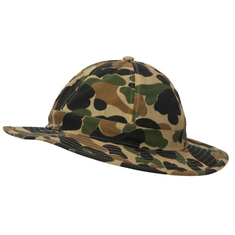 Avery Heritage Boonie Hat Marsh Brown in Old School Camo Color