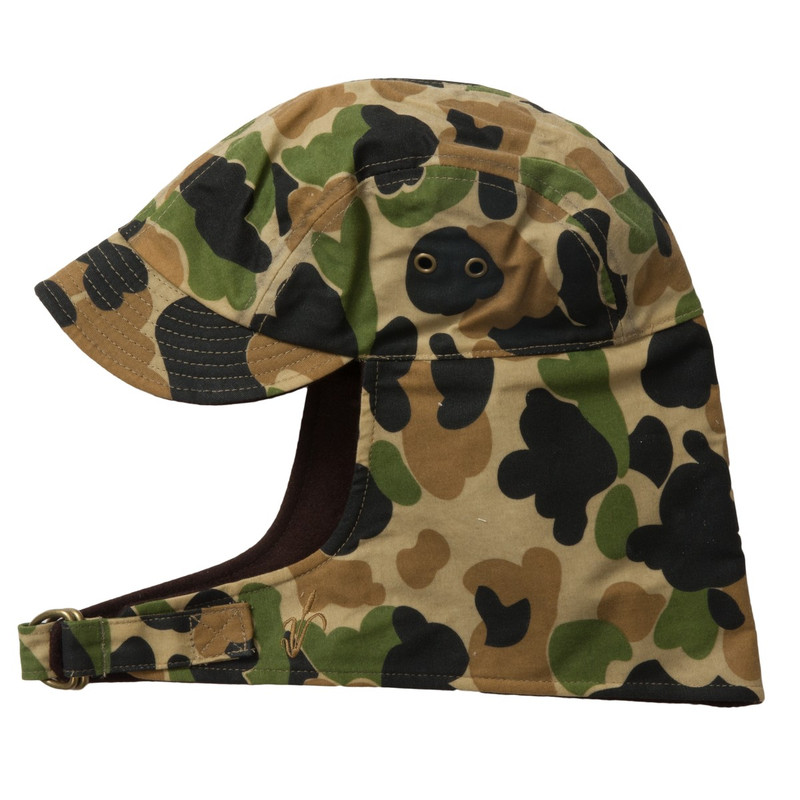 Avery Heritage Refuge Cap in Old School Camo Color