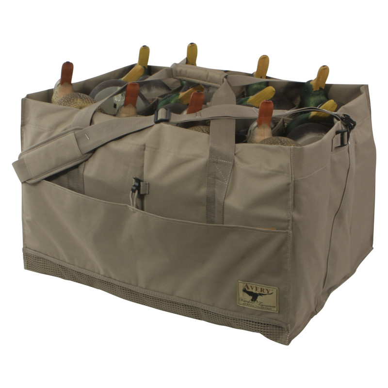 Avery Slotted Duck Decoy Bags in Field Khaki Color