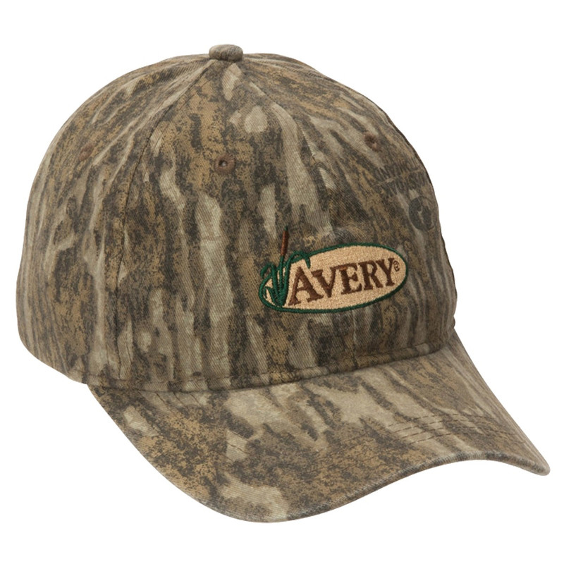 Avery Cotton Twill Cap in Mossy Oak Bottomland Color