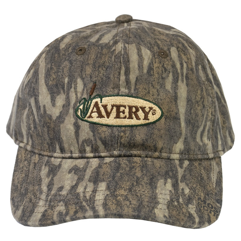 Avery 8 Ounce Oil Cloth Cap in Mossy Oak Bottomland Color