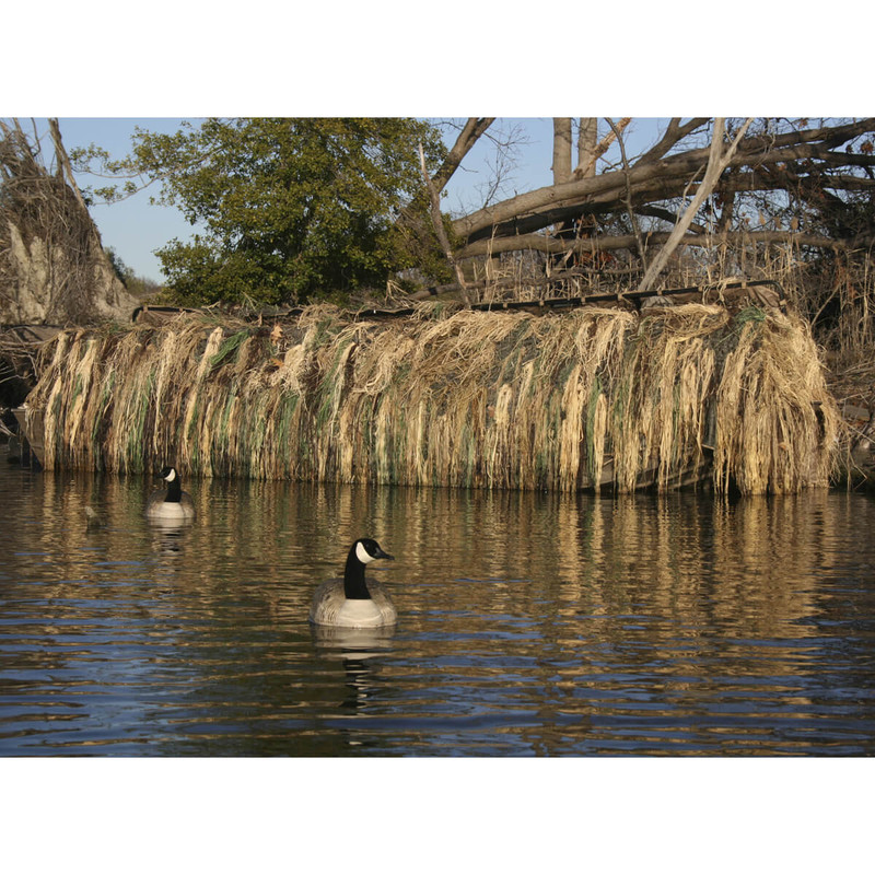 Avery Outdoors Killerweed Duck Boat Camo Blind Kit All