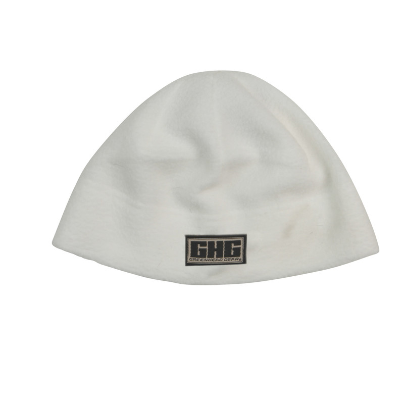 Avery GHG Windproof Fleece Beanie in White Color