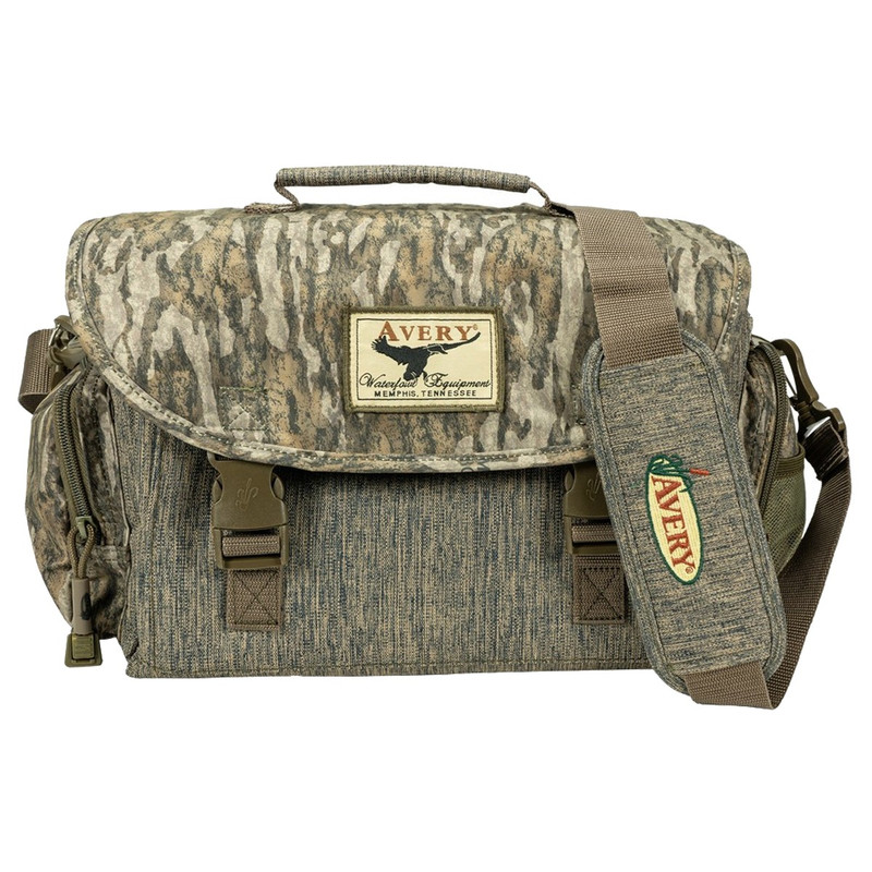 Avery Finisher 2.0 Blind Bag in Mossy Oak Bottomland Color