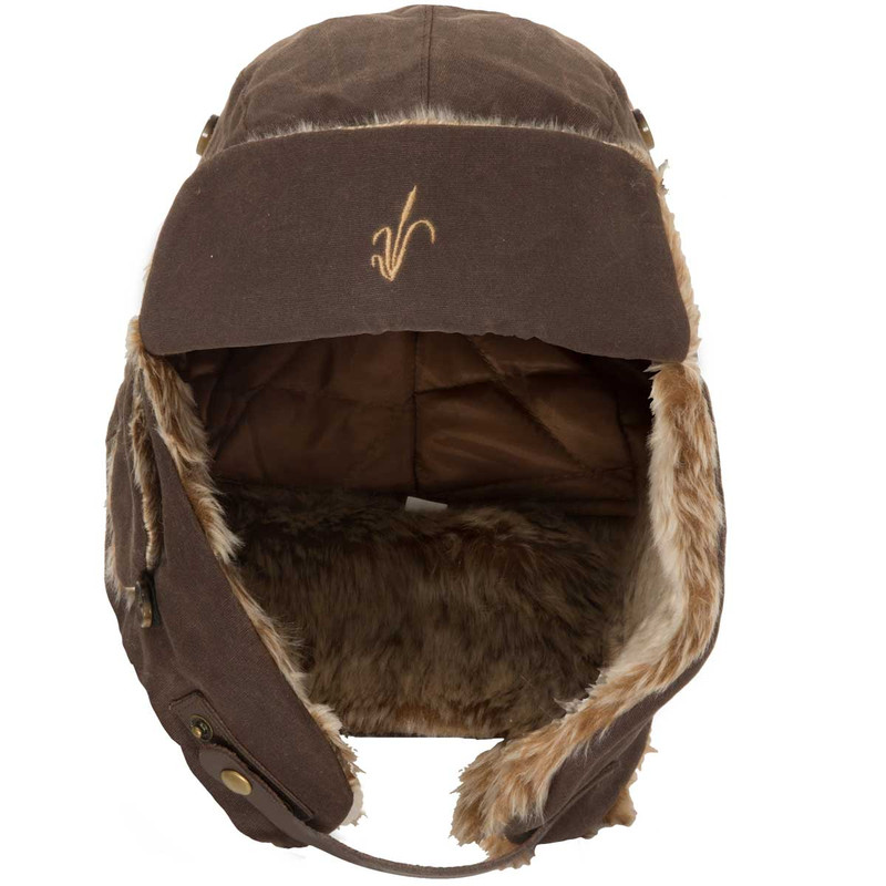Avery Heritage Bomber Hat in Marsh Brown Color