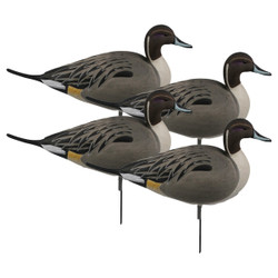 GHG Oversize Active Full Body Pintail Duck Decoys 4 Pack