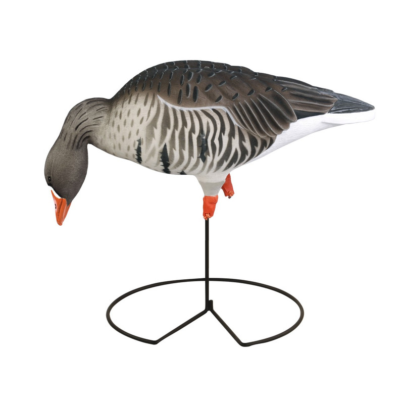 GHG ProGrade Full Body Fully Flocked Specklebelly Goose Decoys 6 Pack