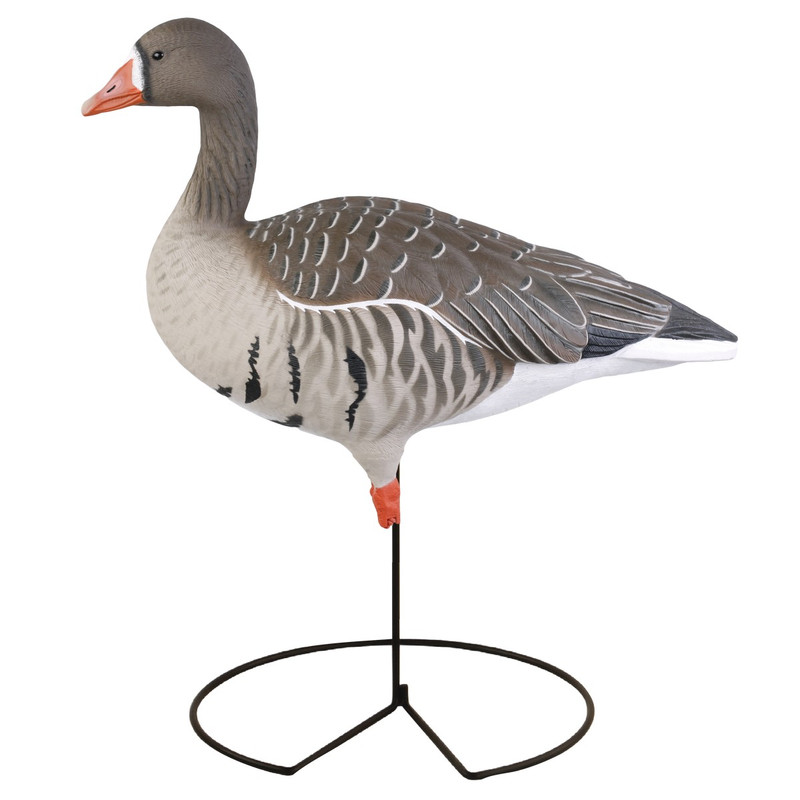 GHG Pro-Grade Full Body Specklebelly Harvester Goose Decoys - 6 Pack