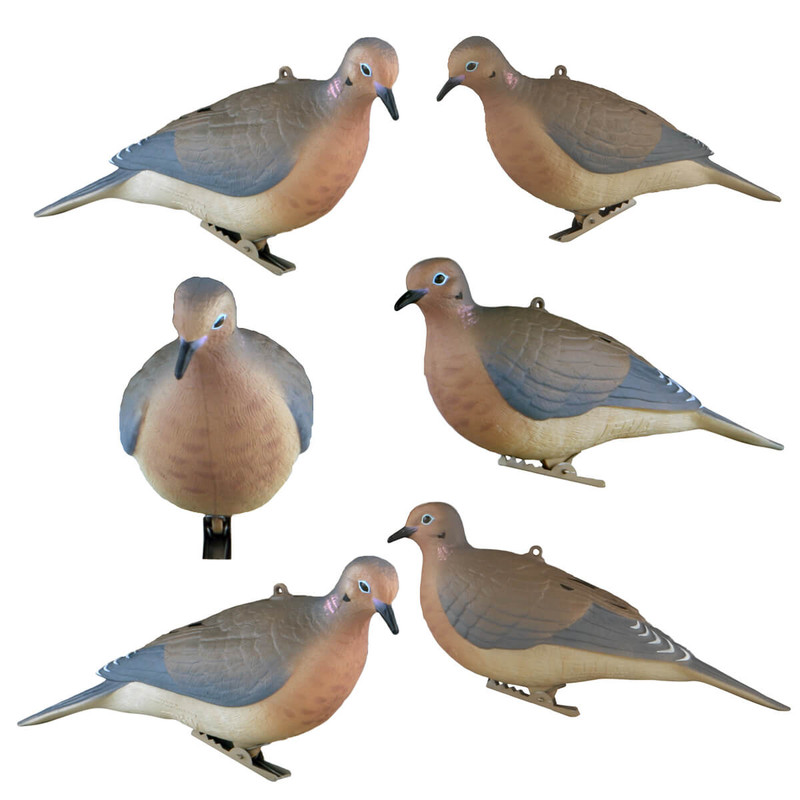 GHG Mourning Dove Decoys - 6 Pack