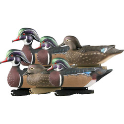 GHG Pro Grade Wood Duck Decoys - 6 Pack