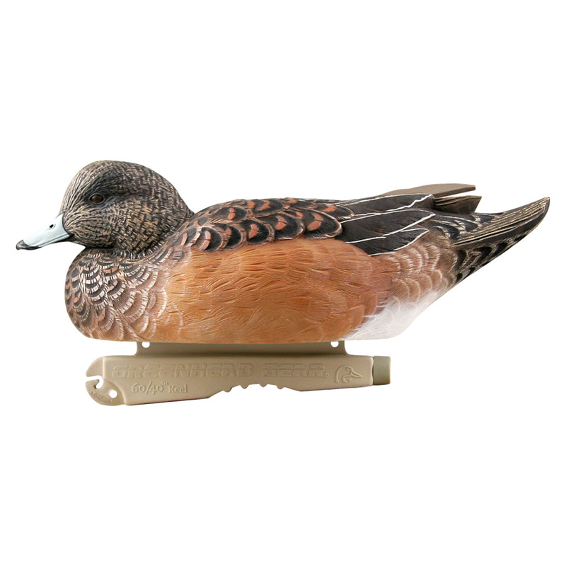 GHG Pro Grade Wigeon Duck Decoys - 6 Pack