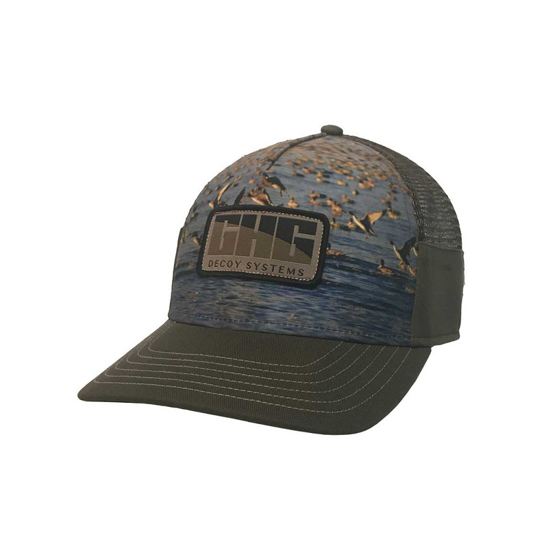 GHG Sublimated Trucker Snapback Cap in main