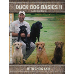 Avery Duck Dog Basics 2 - Basic Handling with Chris Akin DVD