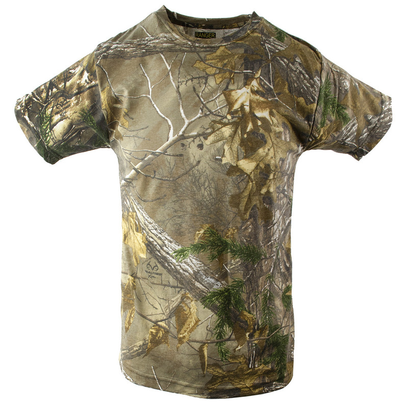 Bell Ranger Youth Short Sleeve T-Shirt in Realtree Edge Color