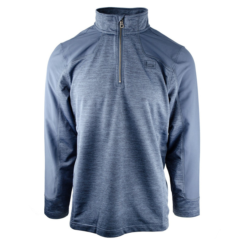 Banded Weekender Performance Quarter Zip Pullover in Midnight Color