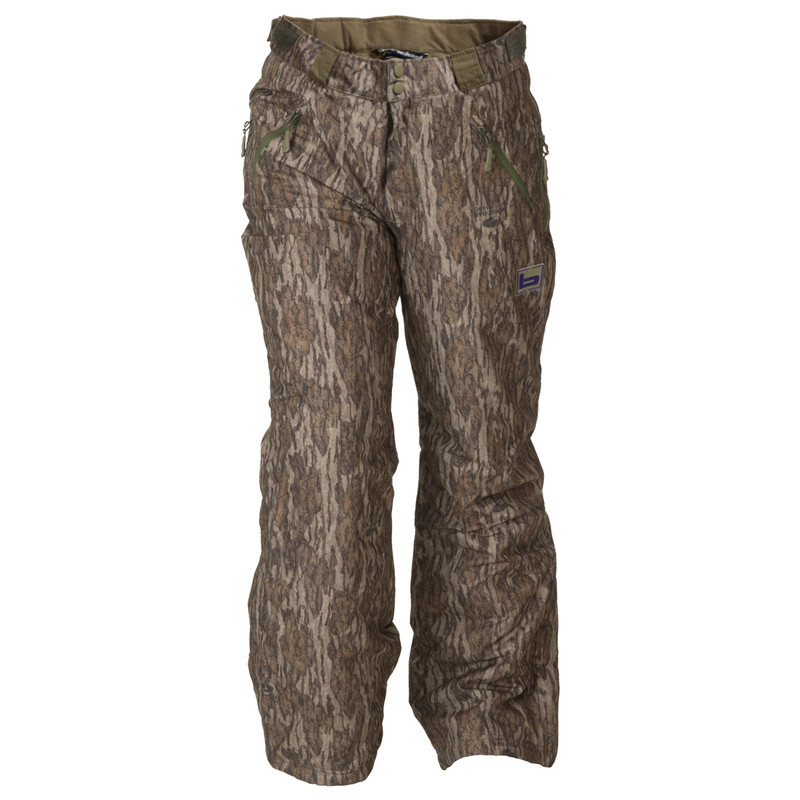 Banded Womens White River Hunting Pants in Mossy Oak Bottomland Color