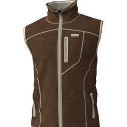 Banded Polar Fleece Vest