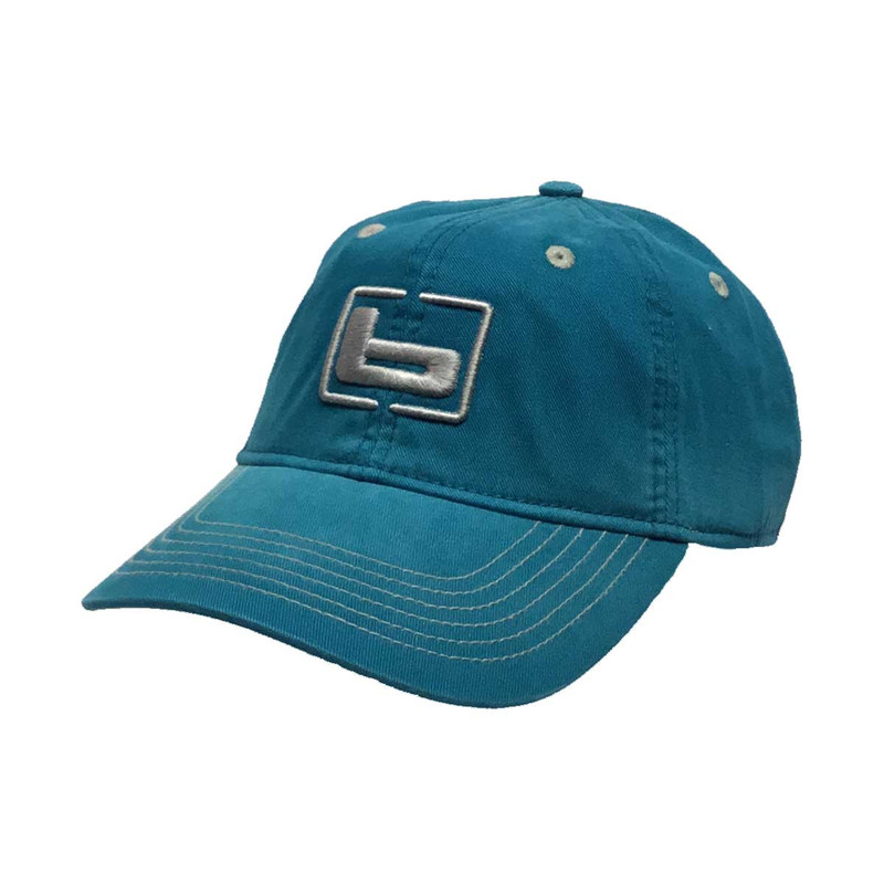 Banded Womens Relaxed Cap in Teal Color