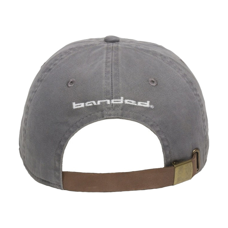 Banded Relax Cap - Men's in Charcoal Color