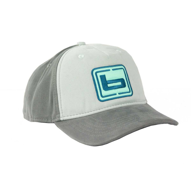 Banded Women's Soft Panel Cap in Dove Gray Color