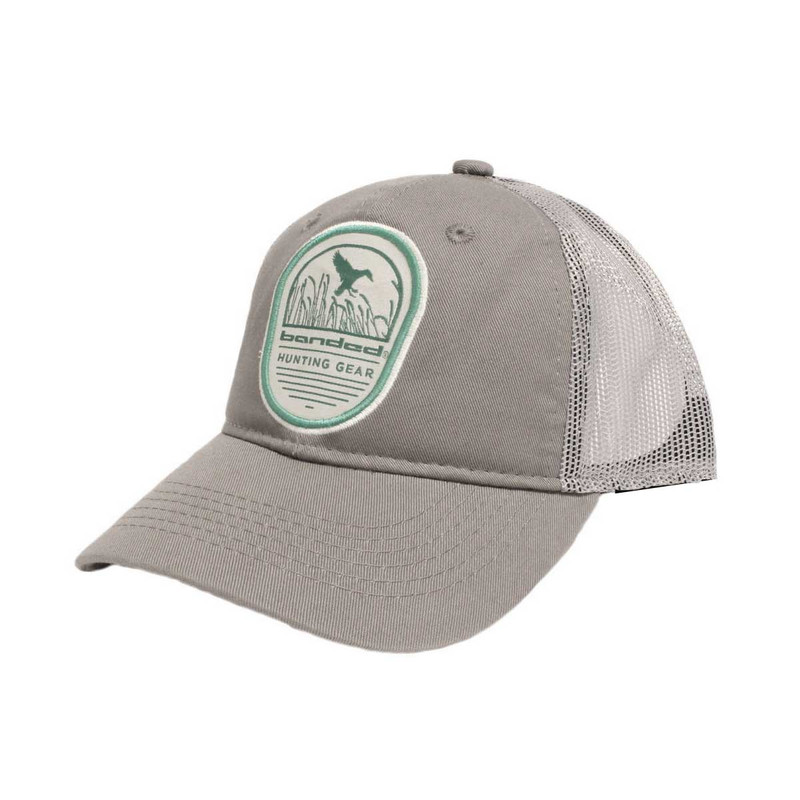 Banded Fowl Ranger Snapback Cap in Grey Color