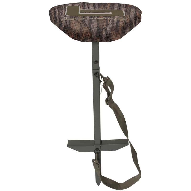 Banded Deluxe Slough Swivel Stool in Mossy Oak Bottomland Color