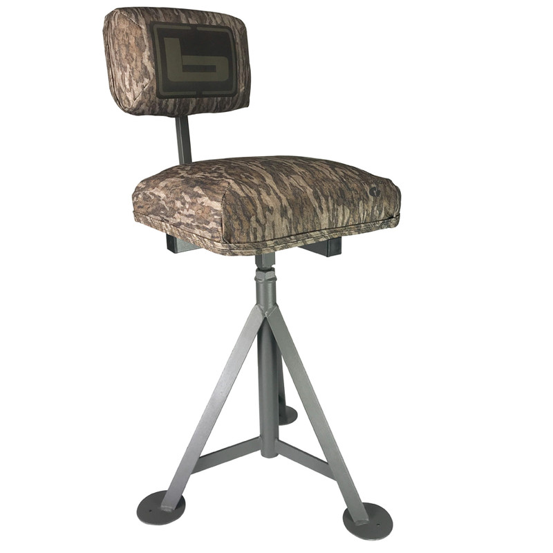Banded Tripod Blind Stool in Mossy Oak Bottomland Color